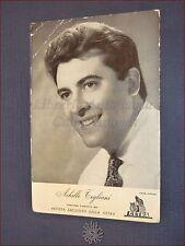 ACHILLE TOGLIANI Fotografia con Autografo datata 4 Luglio 1958 Originale CETRA