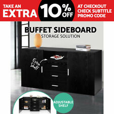 Black Modern Sideboards, Buffets & Trolleys