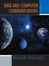 Data and Computer Communications, Seventh Edition Stallings, William Hardcover