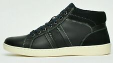 Red Tape REAL LEATHER Blue Designer Chukka Boots Hi Ankle Supp Trainers Sneakers