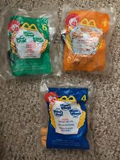 2001 House of Mouse McDonalds Happy Meal Toy Mickey Mouse Lot of 3 #1,4,6