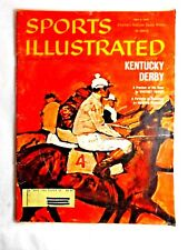 VINTAGE 1960 (May 2) Sports Illustrated,magazine, Horse Racing, Kentucky Derby
