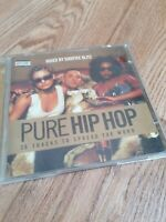 Various artists music Cds PURE HIP HOP Dual Cd Mixed By Shortee Blitz FREE P&P