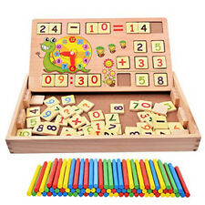Teaching Clock Time Learning Development Maths Mathematics Digit Counting Toy N7