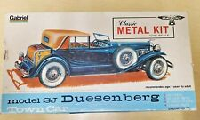Hubley Gabriel Duesenberg SJ Town Car Metal Model Kit #4868