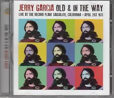 Jerry Garcia-OLD & in the way/Live at the record plant 1973, CD NEUF