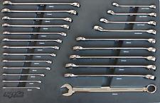 SP Tools Eva Toolkit 23pc Metric Roe Flare Spanners
