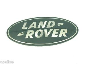 Genuine New LAND ROVER GRILLE BADGE Logo Discovery & Sport Evoque Velar 2012+