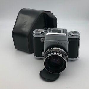 Pentacon Six TL German medium format camera with Biometar 2.8/80 Carl Zeiss lens