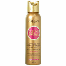 L'Oreal Sublime Bronze Express Pro Self Tanning Dry Mist Light 150ml