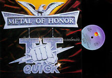 LP--TT QUICK METAL OF HONOR / 207854 //  1986