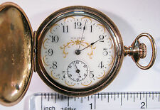 Waltham Pocket Watch 6s 7 Jewels - Non-Running Parts / Repair - Vintage o