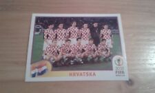 N°475 TEAM EQUIPE ELFTAL # HRVATSKA PANINI 2002 FIFA WORLD CUP KOREA JAPAN
