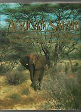 THE AFRICAN SAFARI by P. JAY FETNER 1989 Hc Dj Wildlife & Photographic ADVENTURE