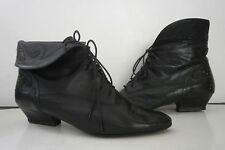 Schnürstiefeletten Damen Boots Stiefelette Ferretti 90s TRUE VINTAGE ankle boot
