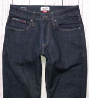 Mens TOMMY HILFIGER Ryan Jeans W30 L30 Blue Stretch Straight Fit