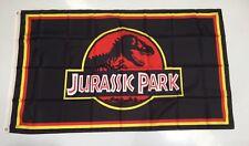 Jurassic Park Banner Flag - Movie Film Dinosaurs The Lost World Car  Man Cave