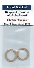 Veco .19 Cylinder Head Gasket 2 Pack NIP