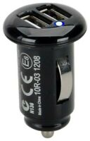 HR Auto 2 USB Adapter Ladegerät 2,1A Zigarettenanzünder 12 - 18 Volt automatisch