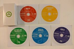 USB with install code! Switched on Schoolhouse 7th Grade CD Set