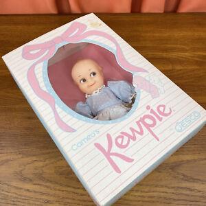 Cameo's Kewpie Doll by Jesco in Light Blue Dress w/ BOX! - Vintage 1987