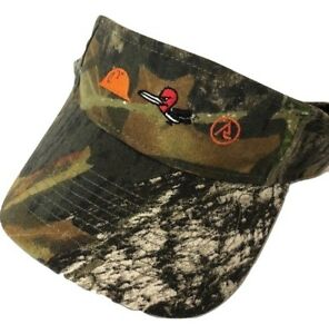 MOSSY OAK Visor Hat One Size Camo Hunting APPROACH NWT