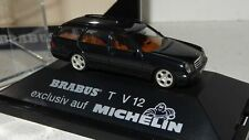 Herpa MB BRABUS T V12 E-Klasse S210 T-Modell auf Michelin PC+OVP 1:87 (R1_3_51)
