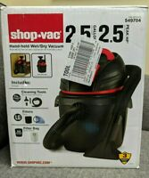 *Shop-Vac 2.5 Gallon Hand-Held Wet/Dry Vacuum 549704 BRAND NEW