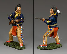 """NEW King & Country Plains Indian Crow Scout """"Curly"""" TRW072P Custer's Last Stand"""