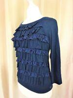 T-Shirt  Abercrombie & Fitch  parfait état bleu Taille XS FR34 US2 UK6 EUR32