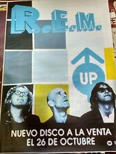R.E.M UP SPANISH BIG PROMO POSTER 100cm X 140cm RARO