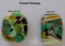 "Lampworking Glass Frit - Fabfrit Coe104,Usa 'Forest Fantasy"",1 oz, size: Mixed"