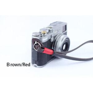 Bresson Genuine Leather Camera Wrist Strap for DSLR Leica Fujifilm Sony Olympus