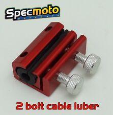 USA SHIPPED DIRTBIKE ATV Cable Lubricator Tool Brake Clutch Luber Oiler 2 bolt