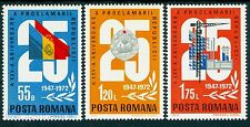 1972 Republic,25th.anniv.,Coat of Arms,Industry,construction,Romania,Mi.3080,MNH