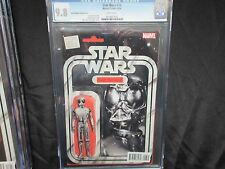 CGC 9.8 MARVEL STAR WARS # 16 DEATH STAR DROID ACTION FIGURE VARIANT
