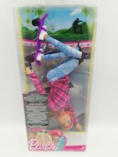 Barbie Made To Move Skateboarder doll - Ultra Flexible Articulated Body RARE