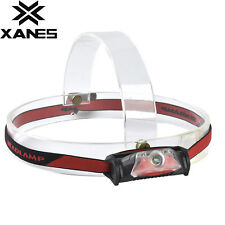 XANES 179 350 Lumens XPE+2 LED Bicycle Headlight Outdoor Sports Red Light HeadLa