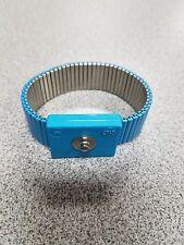 Anti Static Metal  Medium Wrist Strap, .16 snap tab NEW IN USA.