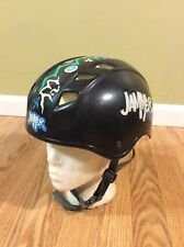 Vintage 90s 1994 Jammer Skateboard/Bmx Helmet B.S.I. Usa Black Bsi sz Med