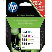 Original HP Nr.364 4er Set, Photosmart 5510 D5460 C5324 D5468 MHD teilw. übers.