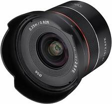 Rokinon 18mm F2.8 Full Frame Auto Focus Wide Angle Lens for Sony E  - IO18AF-E