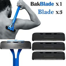 Bakblade Pro Mens DIY Easy to Use Back Hair Remover Shaver Razor Hairy Backs NEW
