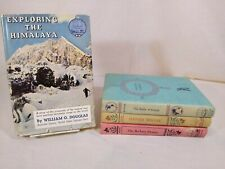 Lot of 4 Landmark Books  21, 31 W-10, W-36   Random House   HC (LM-3)