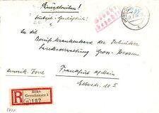Ungeprüfte Bedarfsbrief Allgemeine Briefmarken-Ausgaben der französischen Zone (ab 1945)