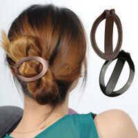 Women Fashion Hair Styling Clip Pins Bun Maker Barette Hairclip Tool Hairpins