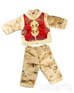 Chinese New Year Boys Emperor Costume