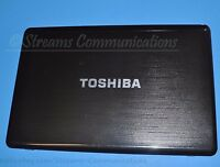 "TOSHIBA Satellite P775-S7320 17.3"" Laptop LCD Back Cover w/ Webcam + Antenna"