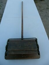 Early 1900s Bissell's American Queen Wooden Push Broom Sweeper Good Used Conditi