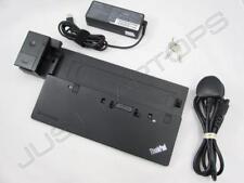 New listing Lenovo ThinkPad T560 X240 Ultra Docking Station Port Replicator + 90W Psu
